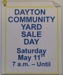 Town of Dayton Yard Sales