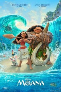 Movie: Moana (PG) @ College Street Pavilion | Dayton | Virginia | United States